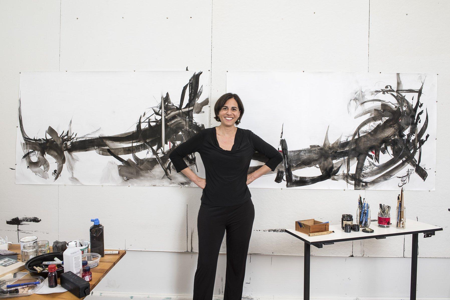 Nazanin Moghbeli '96, Artist and Cardiologist, Featured Alumni Weekend artist