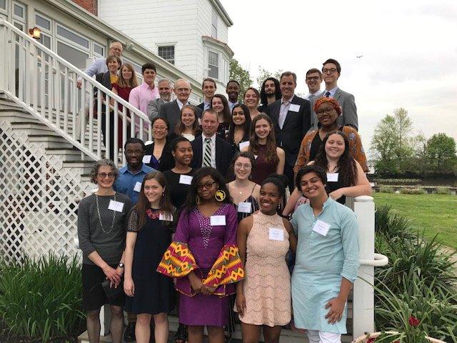 McCabe Scholars at the 2019 McCabe Scholars dinner