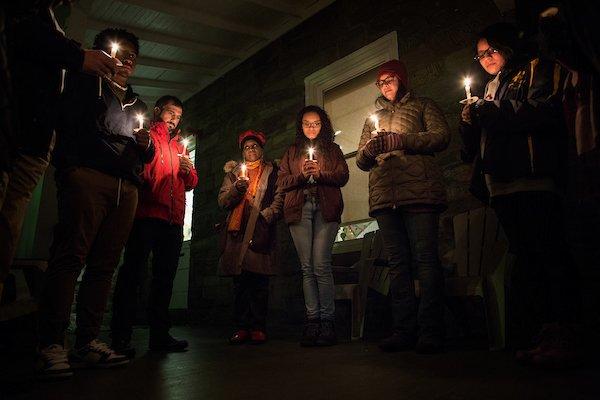 BCC Candlelight Vigil