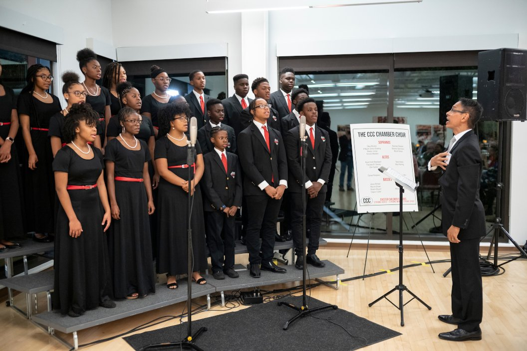 Chester Children's Chorus performs in Matchbox