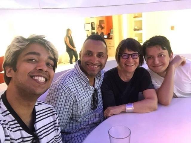 Vishnu Gupta, Rodney Evans, Patricia White and David Molina Cavazos.