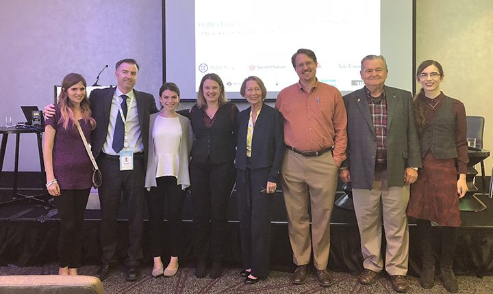 Swarthmore contingent at Global Climate Action Summit