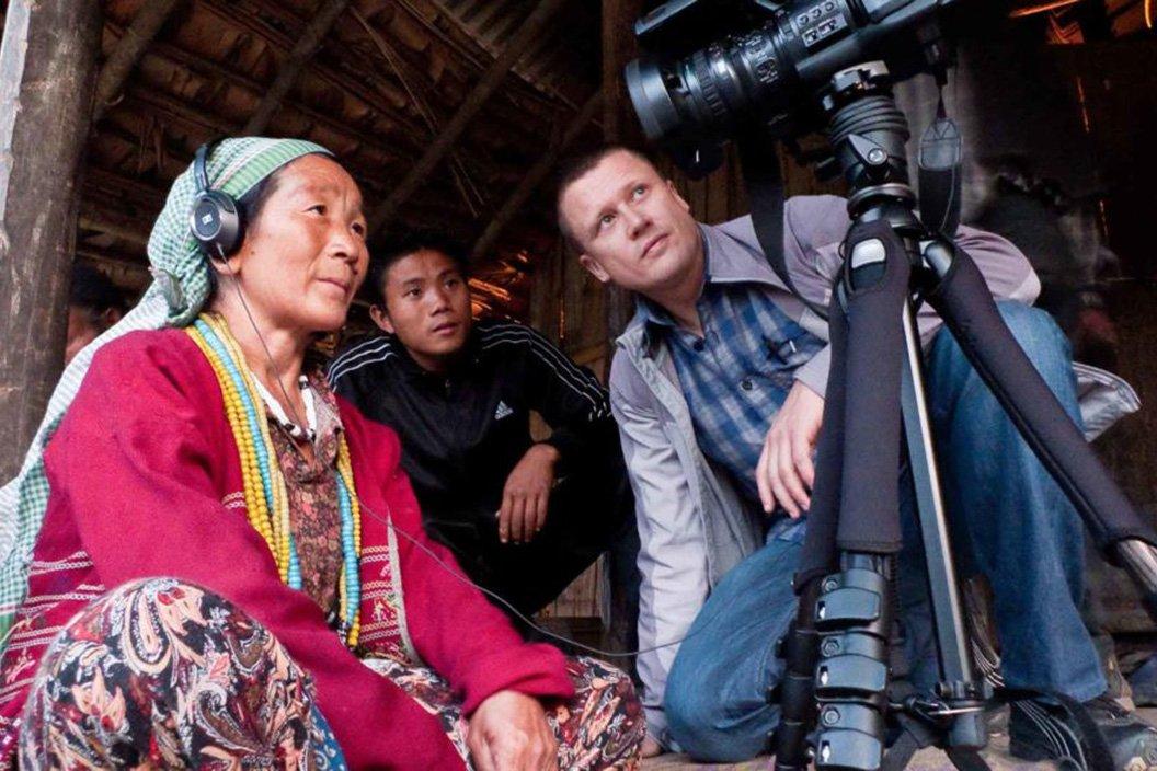 K David Harrison recording language in the field