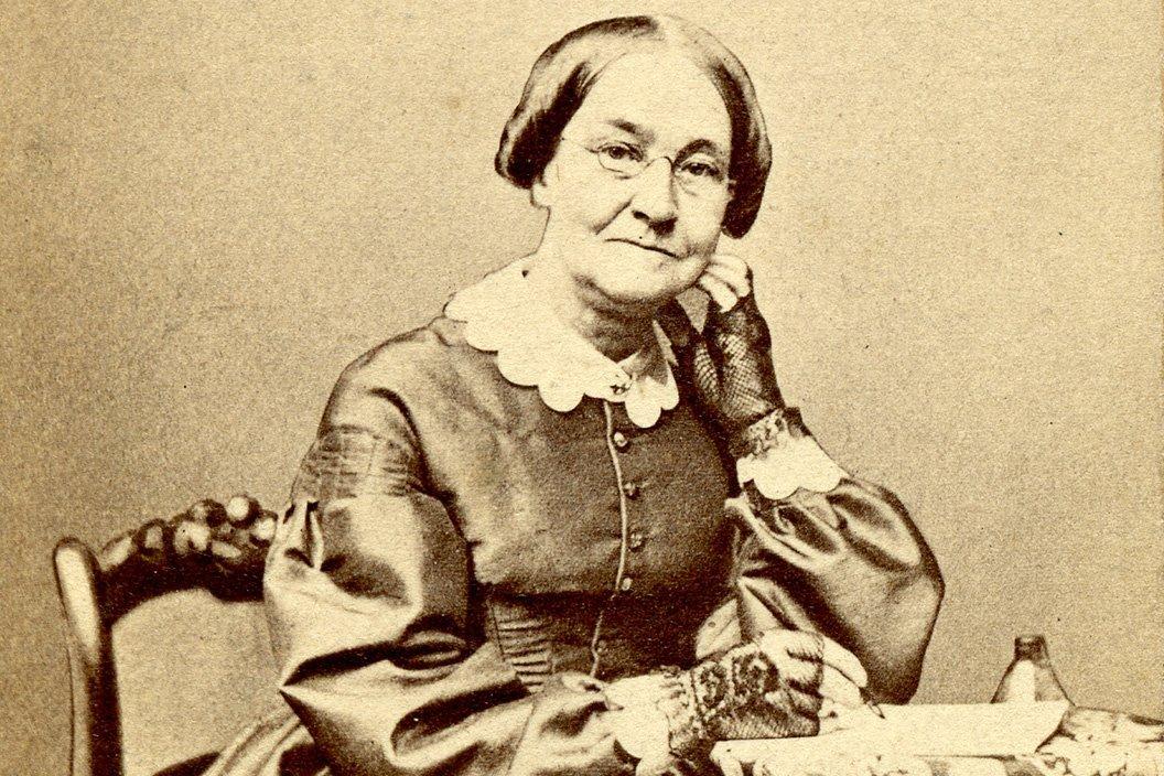 Mira Sharpless Townsend sitting in a chair