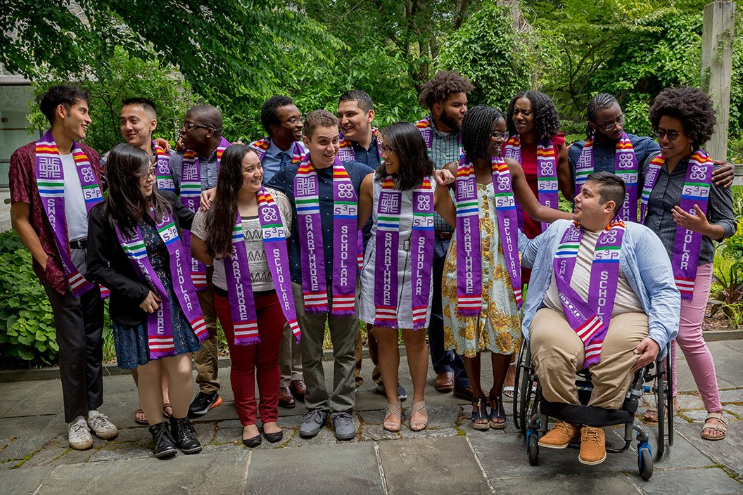 The first class of Swarthmore Summer Scholars