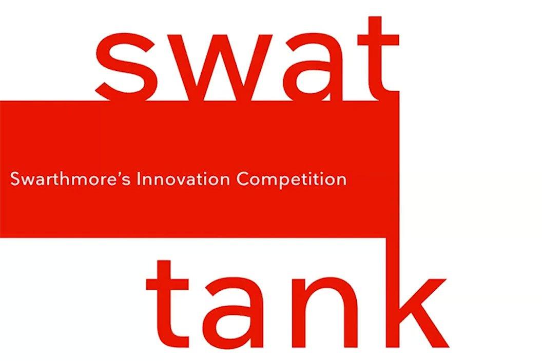 """Logo that says """"Swat Tank"""""""