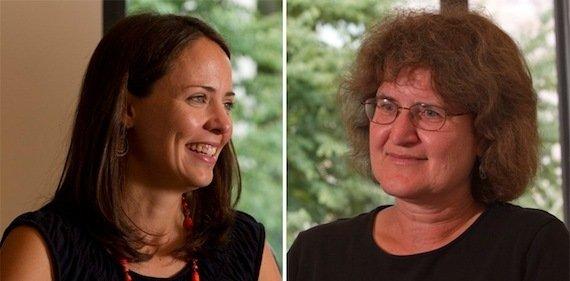 Erin Bronchetti and Ellen Magenheim