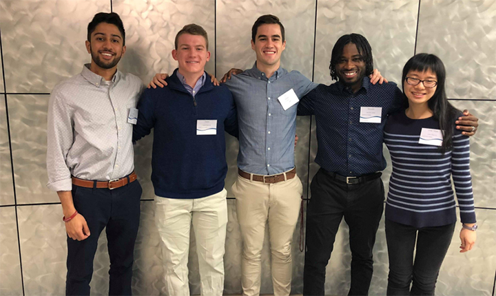 Chemistry students at 2018 ISCC
