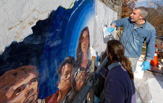 David Craig mural