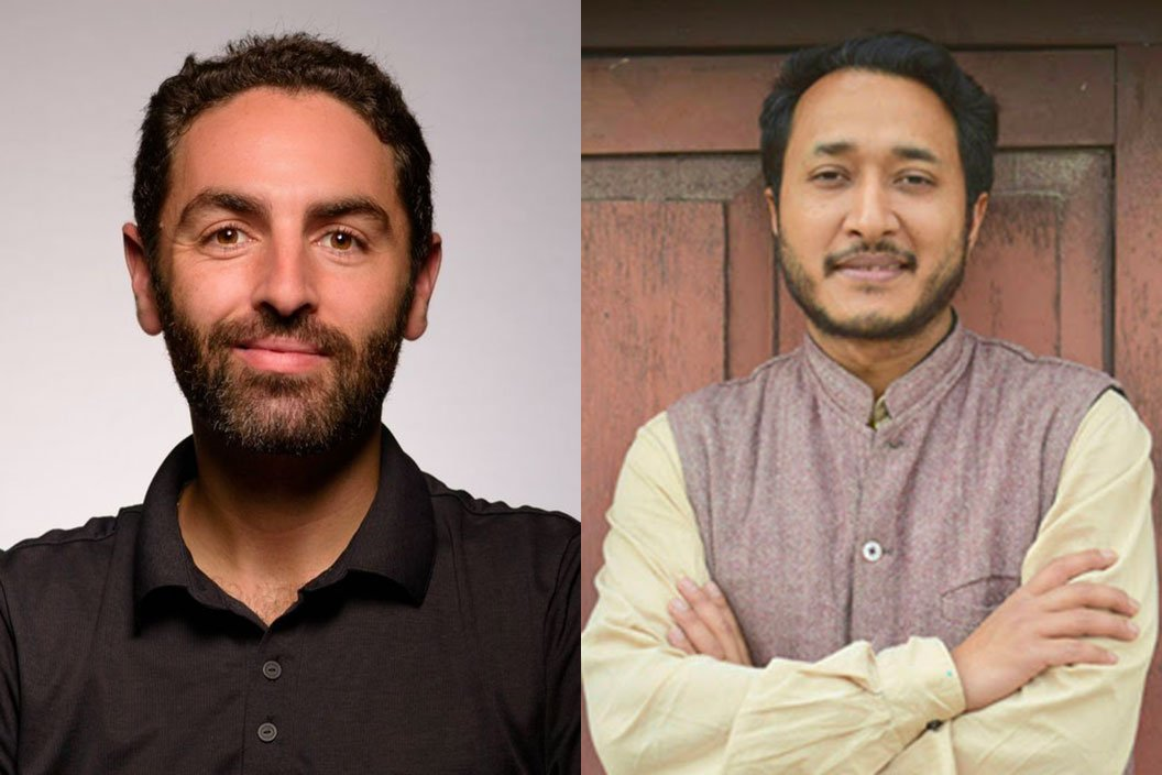 Mark Hanis '05 and Pukar Malla '02