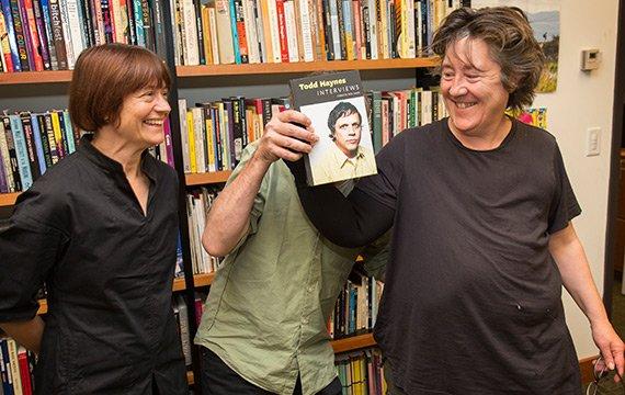 Todd Haynes and Christine Vachon