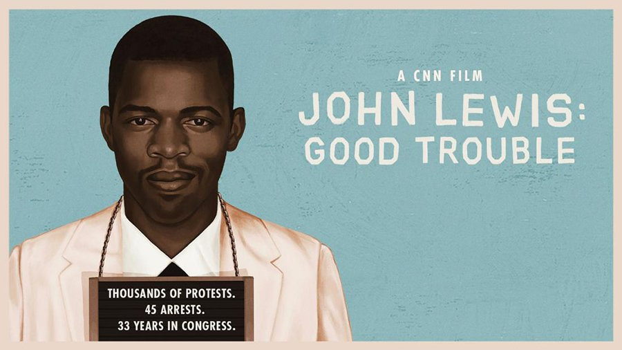 """Poster for """"John Lewis: Good Trouble"""""""