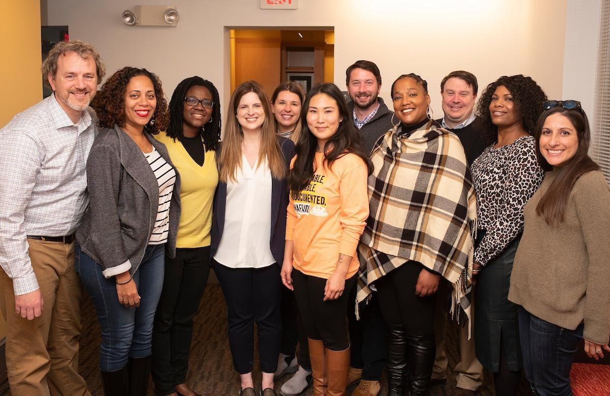 Engaged Scholars Initiative retreat at the Lang Center on the campus of Swarthmore College in 2019.