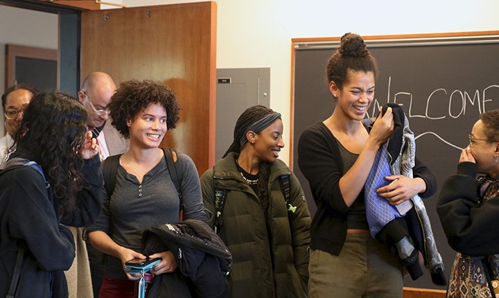 Mellon Mays fellows surprised by news