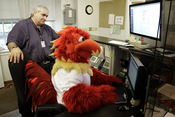 Phineas Phoenix in the Public Safety Communications Center