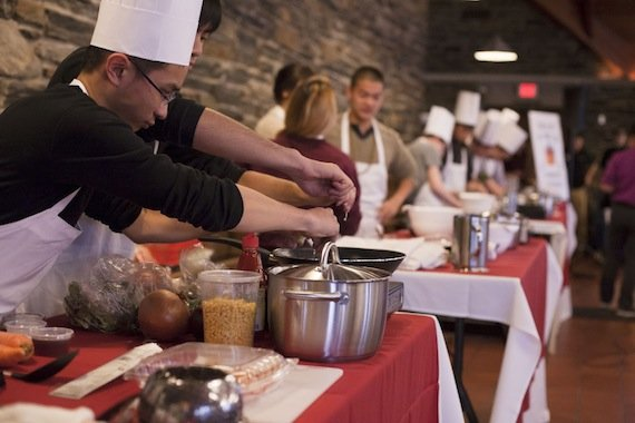 Trial by Fire cooking competition