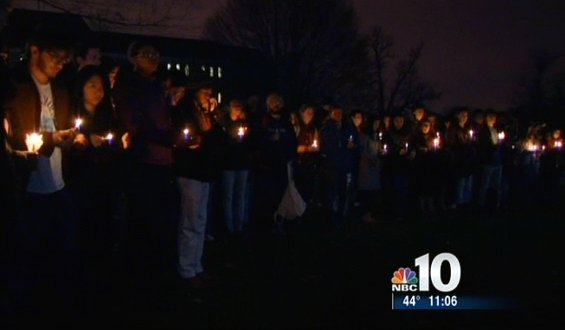 Newtown Ct vigil