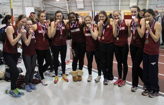 Women's track team