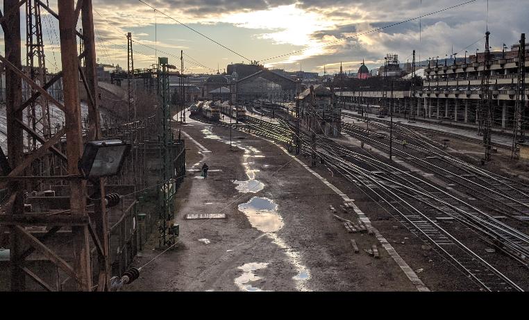 Nyugati Station, Budapest (Hungary)