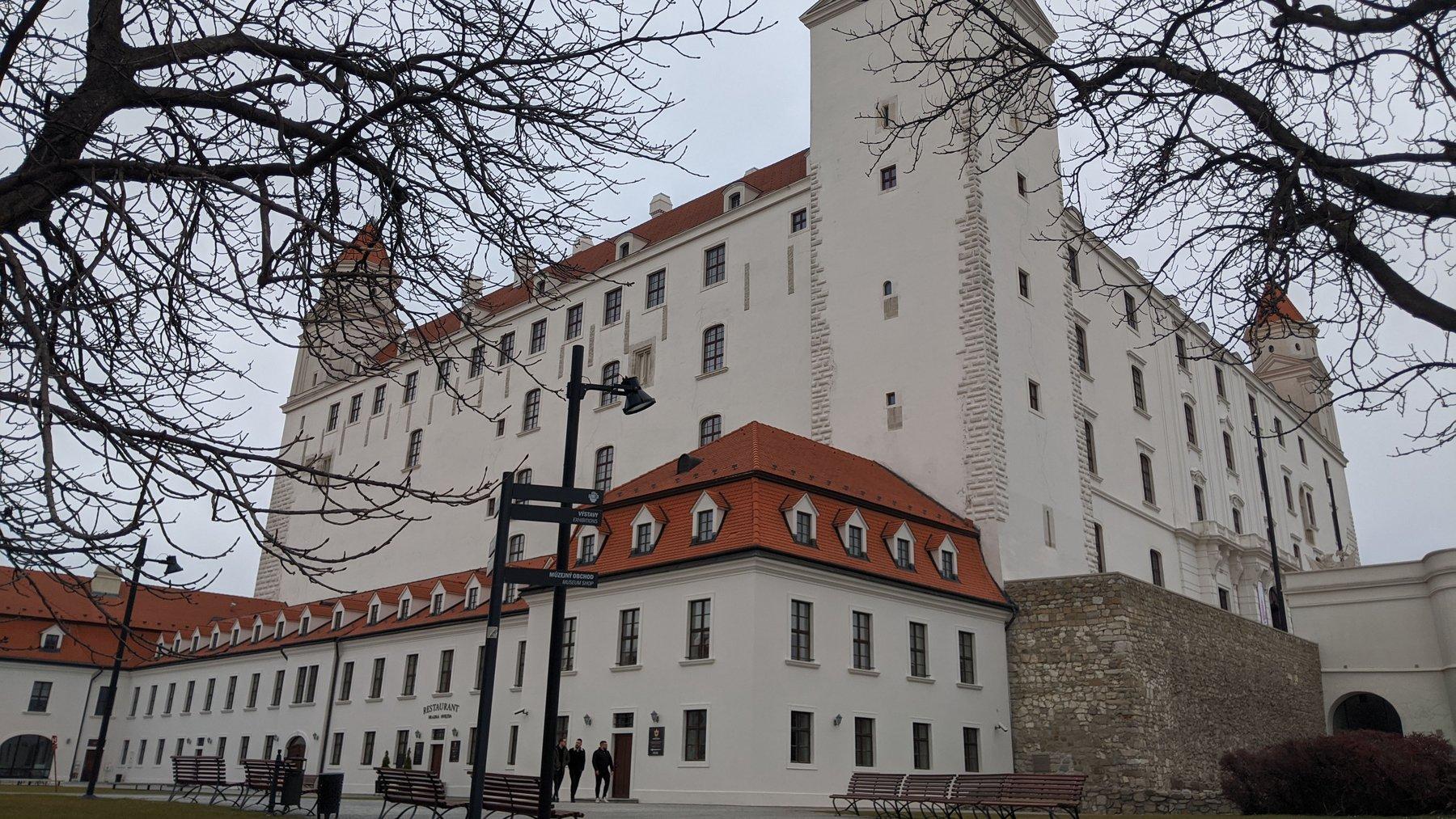 building in Bratislava, Slovakia