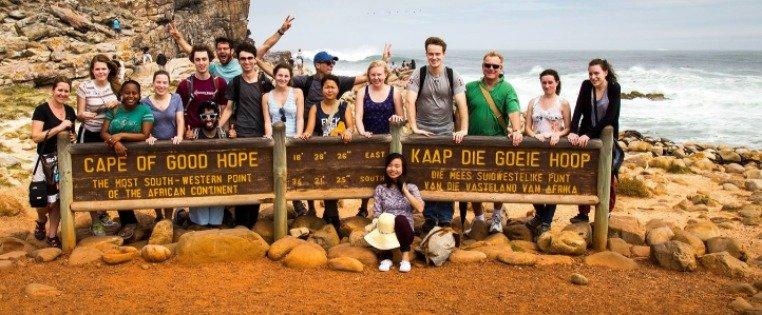 students at the Kaap Die Goeie Hoop