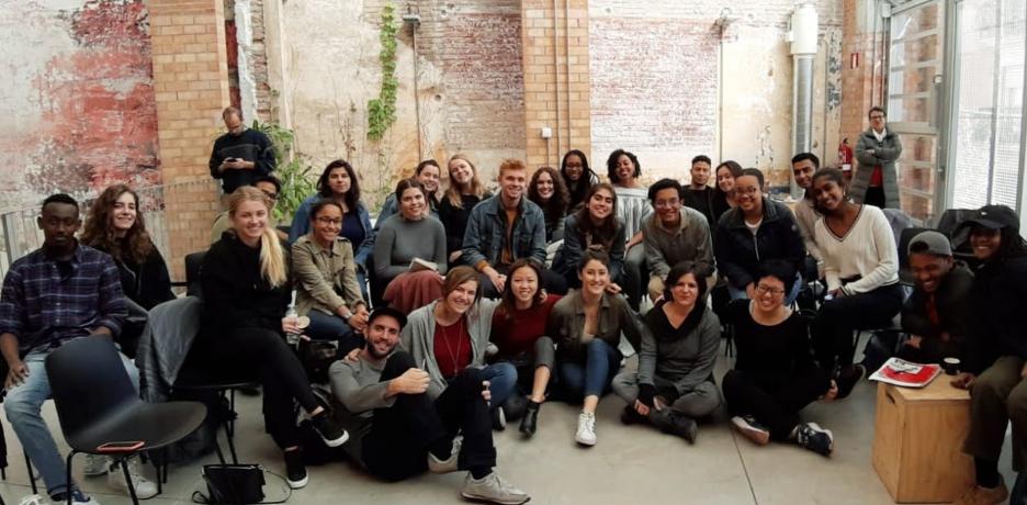 Students in Barcelona, Spain (SIT/IHP program)