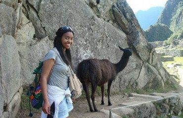 Aden Tetla '12 in Peru