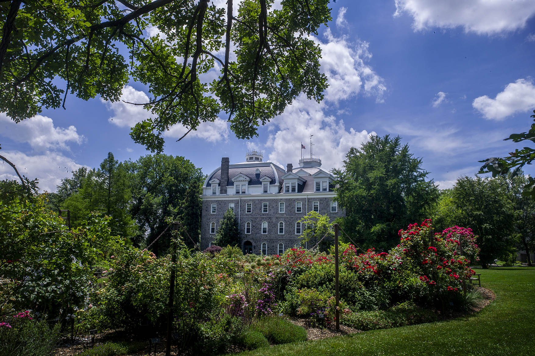 Parrish Hall in the Springtime