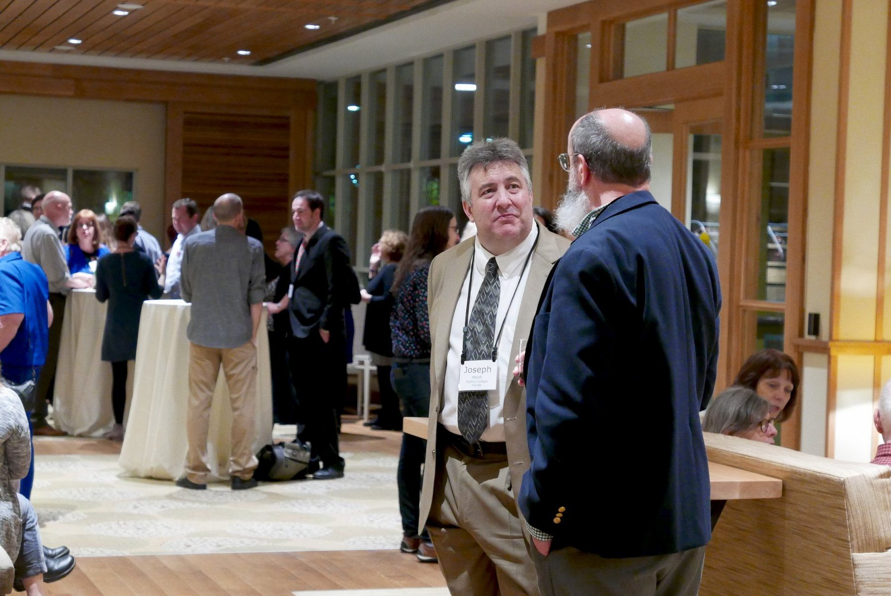 CLASP conference attendees at the Inn
