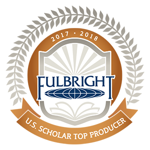 Fulbright Top Producer 2017-18