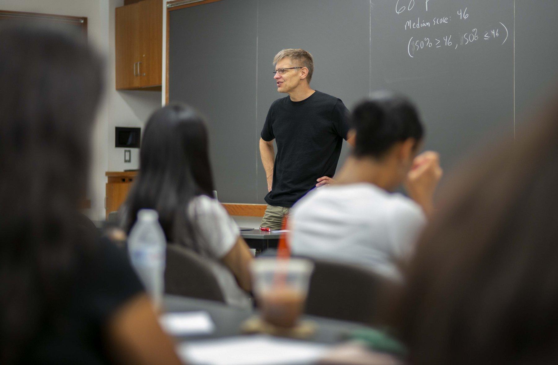 Summer Scholars classroom