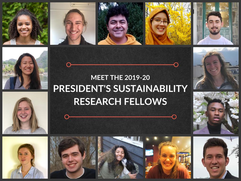 2019-20 PSRF Fellows