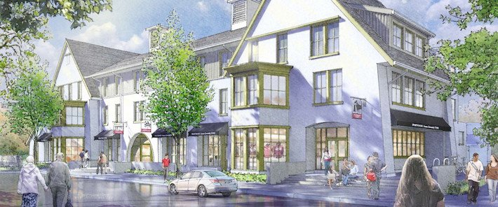 Mock-up image of the Inn at Swarthmore